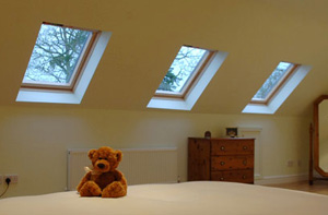 Velux windows in loft conversion
